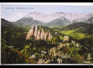 Semmering, Poleruswand mit Rax, ca. 1910 (14866)