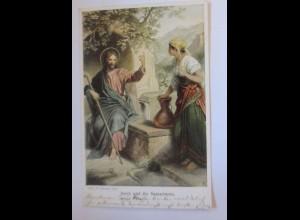 """""""Religion, Heilige, Jesus und die Samariterin"""" 1907 ♥"""