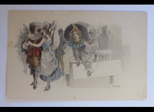 """Karneval, Faschingsball"" 1900, Leon Max ♥"
