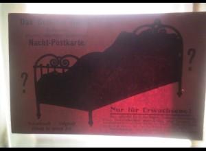 Halt gegen das Tageslicht, Rätselhaftes Geheimnis Nacht ,1910 ♥ (21861)