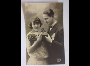 Ostern, Frauen, Männer, Osterei, Pralinen, 1936 ♥ (56517)