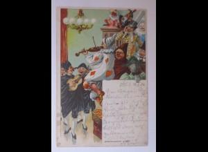 """""""Karneval, Maskenball, Musik, Tanzen"""" 1904 ♥"""