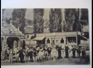 Zirkus, Varieté,Liliputaner, Midget, Schäfers Märchenstadt, Tabak Shop (19750)