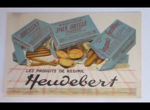 Werbung, Reklame, Heudebert, Gressins, Pain Grille, Longuets 1945 ♥