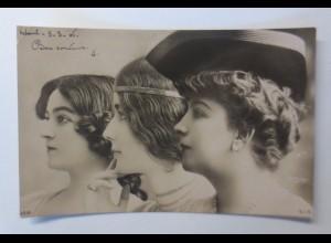 """""""Mode, Frauen, Haarmode"""" 1906 ♥"""