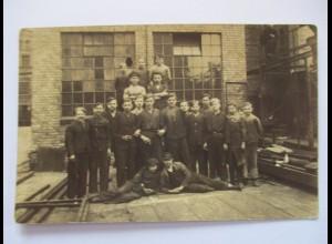 Berufe, Ausbildung, Jugendliche, Auszubildende, Fotokarte ca. 1930 ♥ (37726)