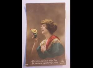 """""""Mode, Frauen, Haarmode, Frankreich"""" 1915 ♥"""