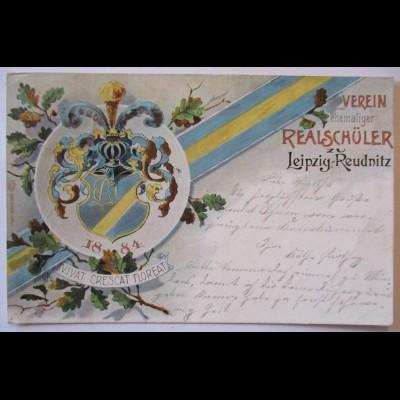 Studentika, Verein ehem. Realschüler Leipzig Reudnitz, 1904 n.Probstheida (165)