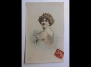 """Mode, Frauen, Haarschmuck"" 1908 ♥"