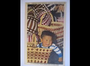Indianer, Kind, Taschen, Smoky Mountains National Park