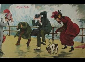 """Flut, Sturm, Männer, Frauen, Hund"" 1910 ♥"