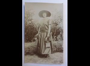 """""""Mode, Frauen, Mode, Hutmode, Fotokarte"""" 1910 ♥"""