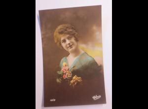 Mode, Frauen, Rosen, 1908 ♥ (43475)