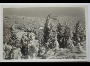 Tschechoslowakei, Radgost, Fotokarte 1938 (19510)