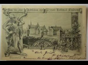Nürnberg, 50. Jähr. Jubiläum German. National Museum 1902