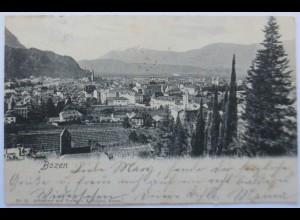 Italien, Bozen, 1904 nach Burghausen