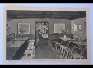Schiffe, Schwimmende Jugendherberge, Tagesraum, Jugendschlafraum 1910 ♥