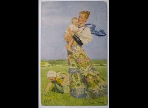 Dresden, Margarittentag, Sonderkarte 1911
