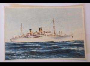 Schiffe, Home Lines Italia, 1955 ♥