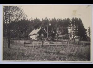 Schweiz Winterthur, Wohnhaus, Gartenhaus, Fotokarte 1923