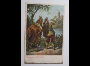Musketier,Trompeter von Säckingen, Abschied es wär so schön gewesen,1908♥(16044)