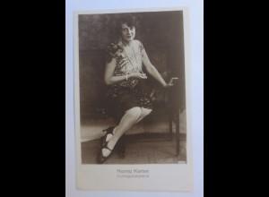 Zirkus, Hanna Korten, Vortragskünstlerin, 1920 ♥ (43594)