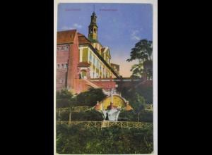Pommern Polen Graudenz, Grudziadz, 1918 an Pfarrer von Bischweiler (47725)