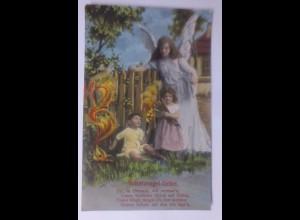 Schutzengel, Engel, Kinder 1910 ♥ (62362)