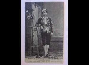 Zirkus, Madame Eugenie Viola,Assistentin von John Armand, Mimiker,1910 ♥ (43601)
