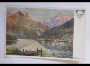 Deutscher Schulverein, Zell am See, Nr. 577, 1914 ♥ (9388)