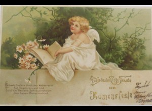 Namenstag, Engel, 1902 ♥ (11058)