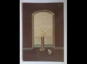 Frauen, Mode, Katzen, 1980, Annie Retivat ♥ (70370)