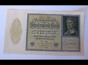 Reichsbanknote Zehntausend Mark 19. Januar 1922 ♥