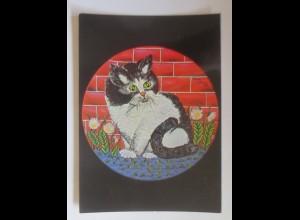 Katzen, Mieze Molly, 1980, Amy Seeber ♥ (70383)