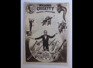 Zirkus, Ricardi Cossetty, Original Imitationen, 1950 ♥ (43585)