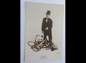 Zirkus, Fahrrad, Velton Comedy Cyclist, Künstler, 1930 ♥ (69290)