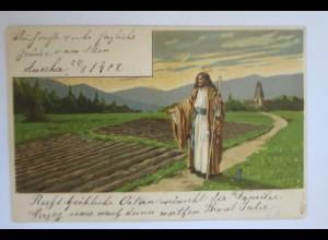 Pfingsten, Heilige, Jesus, 1904, Mailick ♥ (14922)