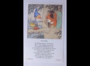 Sammelbild, Zwerge, 10,5 cm x 6,5 cm 1950, Ida Bohatta Morpurgo ♥ (24002)