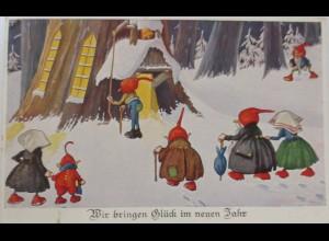 Neujahr, Zwerg, 1930 ♥ (1605)