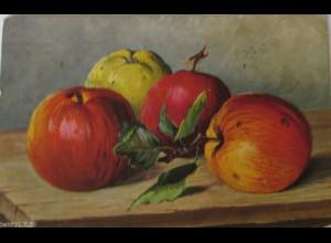 """Obst, Apfel"" 1916, Feldpost ♥"