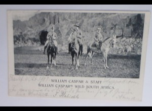 Zirkus, William Casper & Staff, Wild South Afrika, Western, 1901 ♥