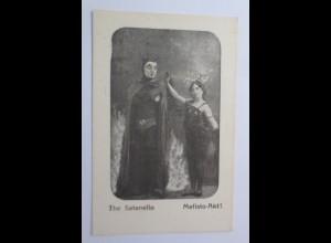 Zirkus, Die Santanello, Mefisto-Akt 1908 ♥