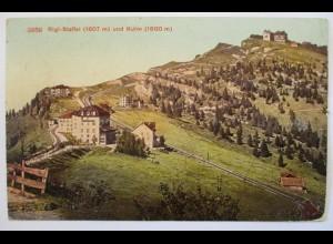 Schweiz, Rigi Staffel und Kulm , 1919