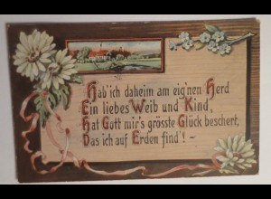 """Spruch"" 1919 ♥"