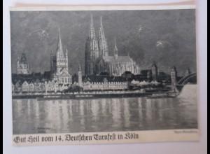 Gut Heil vom 14.Deutschen Turnfest in Köln 1928 ♥