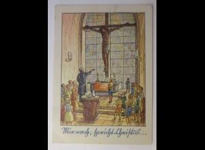 Religion, Kirche, Kinder, Psalm 26,8 1945, Hermann Appel Verlag ♥ (72311)