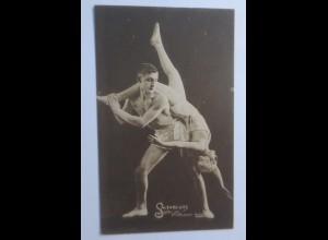 Zirkus, Saltare Ilys, Mulhouse Dijon, Akrobaten, Artisten, 1907 ♥
