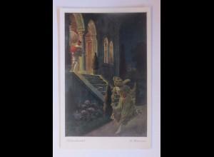 """""""Märchen, Aschenbrödel"""" 1910, O. Kubel Serie 154, Nr. 3877 ♥ (55714)"""