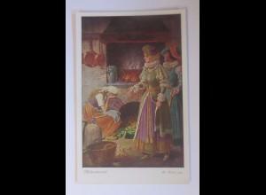 """""""Märchen, Aschenbrödel"""" 1910, O. Kubel Serie 154, Nr. 3874 ♥ (55717)"""