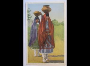 Indianer, Santa Clara Girls, New Mexico